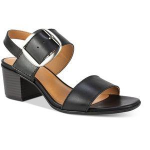White Mountain Woman's Lamar Leather Sandals 9.5